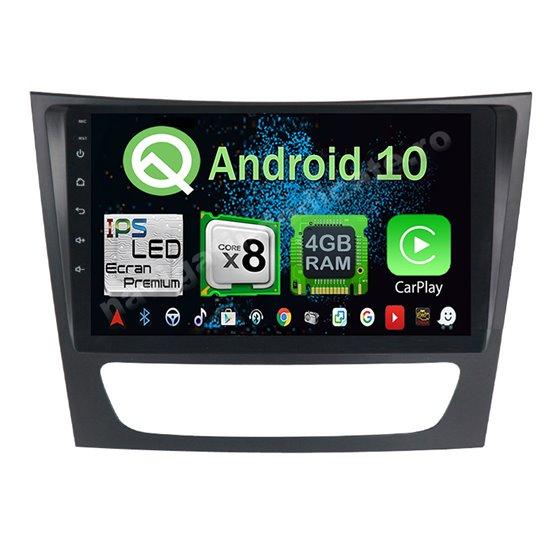 Navigatie Android 10 Mercedes BENZ E Class W211 Octa Core 4GB Ram Ecran 9 inch NAVD-Z8090
