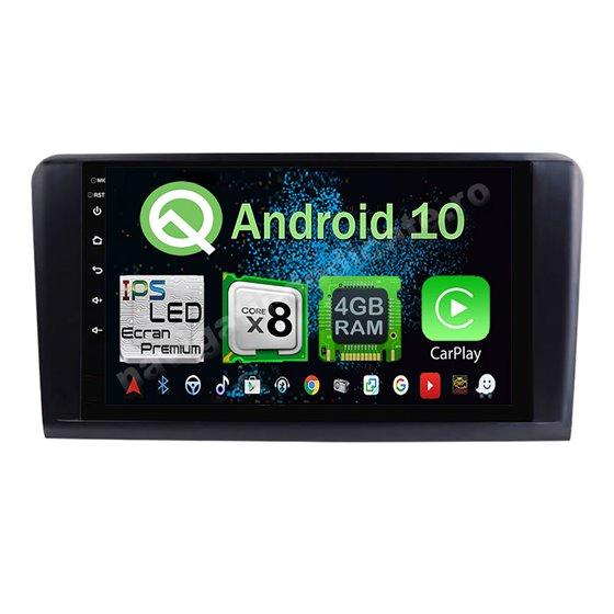 Navigatie Android 10 Mercedes BENZ Ml W164  Octa Core 4GB Ram Ecran 9 inch NAVD-Z8022