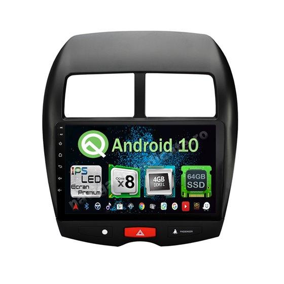 Navigatie Android 10 Mitsubishi ASX 2013-2016 Octa Core 4GB Ram Ecran 9 inch NAVD-Z8022