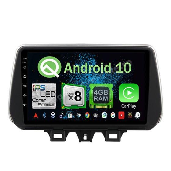 Navigatie Android 10 Hyundai Tucson 2018 Octa Core 4GB Ram Ecran 9 inch NAVD-Z8030