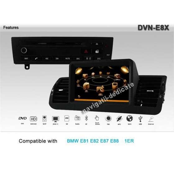 DVD AUTO Dynavin Navigatie BMW SERIA1 E87, E81, E82, E88 DVD GPS CARKIT TV ECO-E8X