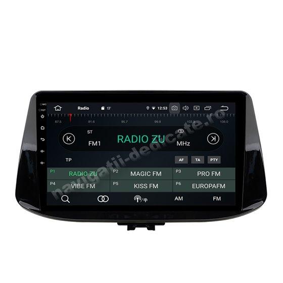 Navigatie Android 10 Hyundai i30 2017 Octa Core 2GB Ram Ecran 9 inch NAVD-I033