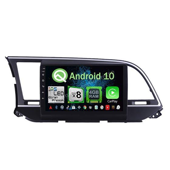 Navigatie Android 10 Hyundai Elantra 2016-2018 Octa Core 4GB Ram Ecran 9 inch NAVD-Z8034