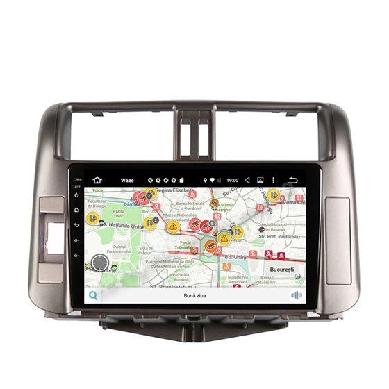 Navigatie Android 10 Toyota Prado 2010-2013 Octa Core 4GB Ram Ecran 9 inch NAVD-Z8005