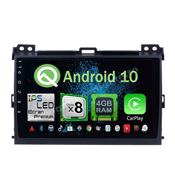 Navigatie Android 10 Toyota Land Cruiser 2004-2009 Octa Core 4GB Ram Ecran 9 inch NAVD-Z8006