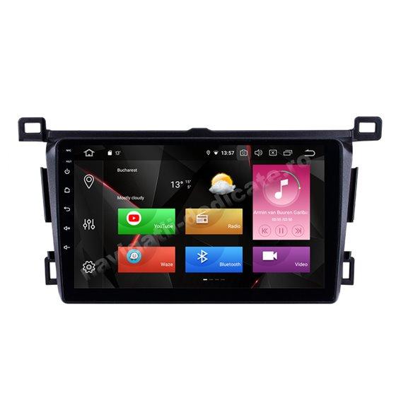 Navigatie Android 10 Toyota RAV 4 2013-2018 Octa Core 4GB Ram Ecran 9 inch NAVD-Z8004