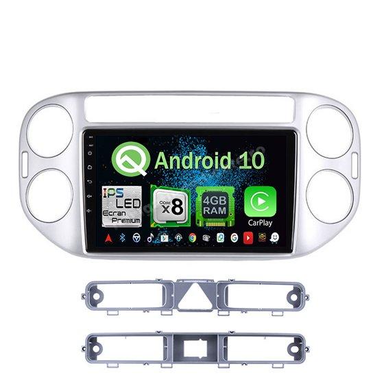 Navigatie Android 10 VW Tiguan 2010 - 2016 Octa Core 4GB Ram Ecran 9 inch NAVD-Z8002