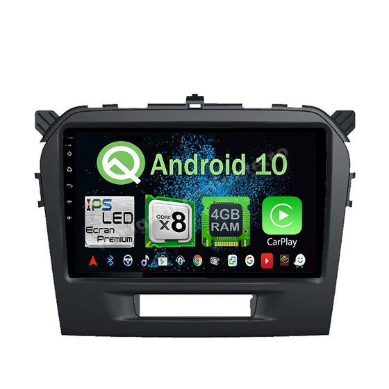 Navigatie Android 10 Suzuki Vitara 2015 Octa Core 4GB Ram Ecran 9 inch NAVD-Z8010