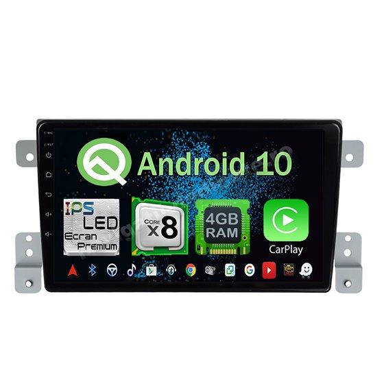 Navigatie Android 10 Suzuki Grand Vitara 2005-2015 Octa Core 4GB Ram Ecran 9 inch NAVD-Z8011