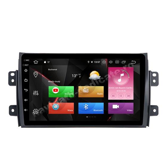 Navigatie Android 10 Suzuki SX4 Octa Core 4GB Ram Ecran 9 inch NAVD-Z8009