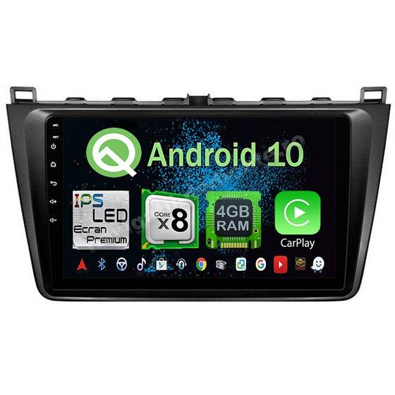 Navigatie Android 10 MAZDA 6 2008-2013 Octa Core 4GB Ram Ecran 9 inch NAVD-Z8024