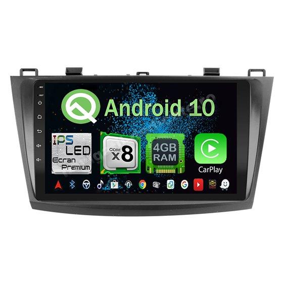 Navigatie Android 10 MAZDA 3 2009-2014 Octa Core 4GB Ram Ecran 9 inch NAVD-Z8025