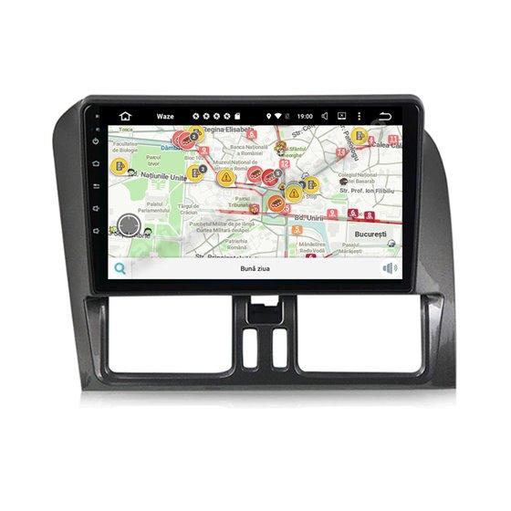 Navigatie Carplay Android 10 Volvo XC60 Octa Core 6GB Ram 128GB SSD Ecran 9 inch Ips NAVD-US9XC60