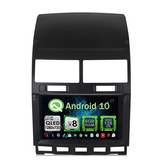 Navigatie Carplay Android 10 Vw Touareg 2003-2011 Octa Core 6GB Ram 128GB SSD Ecran 9 inch NAVD-US99200