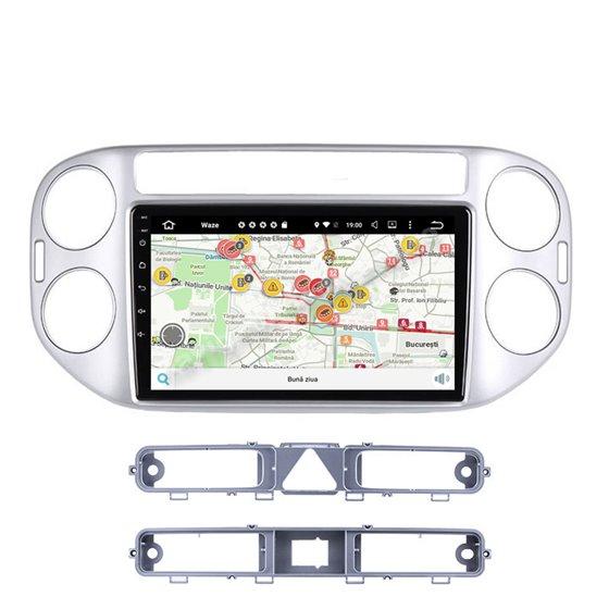 Navigatie Carplay Android 10 VW Tiguan 2010 - 2016 Octa Core 6GB Ram 128GB SSD Ecran 9 inch NAVD-US9002
