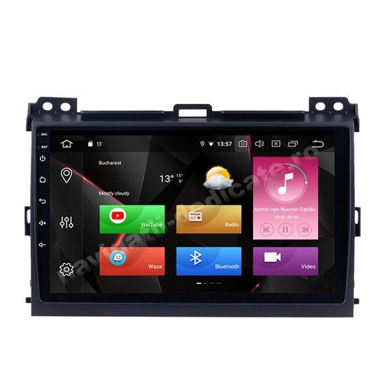 Navigatie Carplay Android 10 Toyota Land Cruiser Prado 2004-2009 Octa Core 6GB Ram 128GB SSD Ecran 9 inch NAVD-US9006