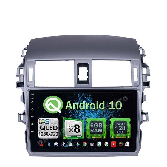 Navigatie Android 10 Toyota Corolla 2008-2013 Octa Core 4GB Ram Ecran 9 inch NAVD-Z8055