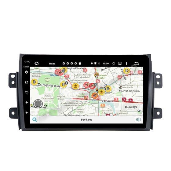 Navigatie Carplay Android 10 Suzuki SX4 Octa Core 6GB Ram 128GB SSD Ecran 9 inch NAVD-US9009