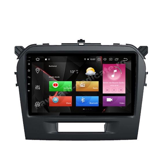 Navigatie Carplay Android 10 Suzuki Vitara 2015 Octa Core 6GB Ram 128GB SSD Ecran 9 inch NAVD-US9010