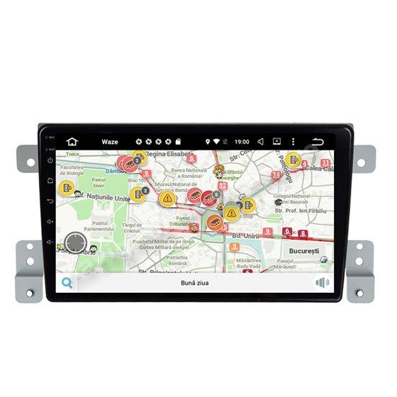 Navigatie Carplay Android 10 Suzuki Grand Vitara 2005-2015 Octa Core 6GB Ram 128GB SSD Ecran 9 inch NAVD-US9011