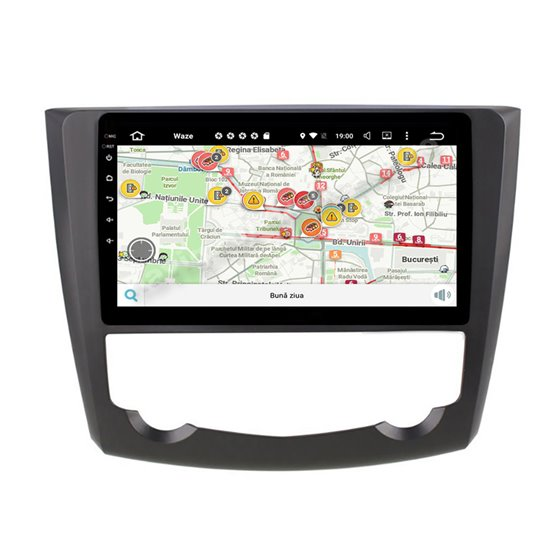 Navigatie Carplay Android 10 Renault Kadjar 2016 Octa Core 6GB Ram 128GB SSD Ecran 9 inch NAVD-US9014