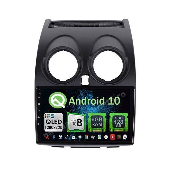 Navigatie Android 10 Nissan Qashqai 2008-2013 Octa Core 4GB Ram Ecran 9 inch NAVD-Z8015