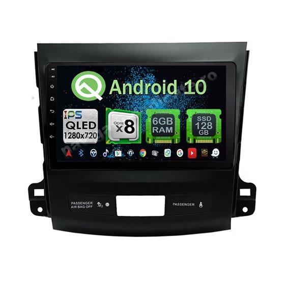 Navigatie Android 10 Mitsubishi Outlander 2008-2015 Octa Core 4GB Ram Ecran 9 inch NAVD-Z8017