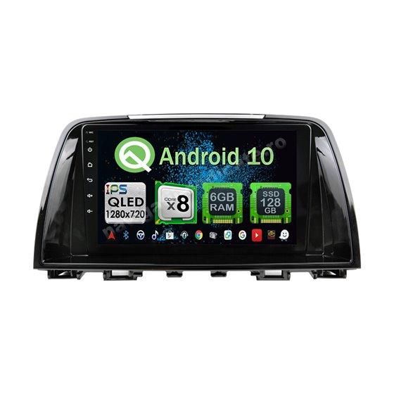 Navigatie Android 10 MAZDA 6 2014-2017 Octa Core 4GB Ram Ecran 9 inch NAVD-Z8023