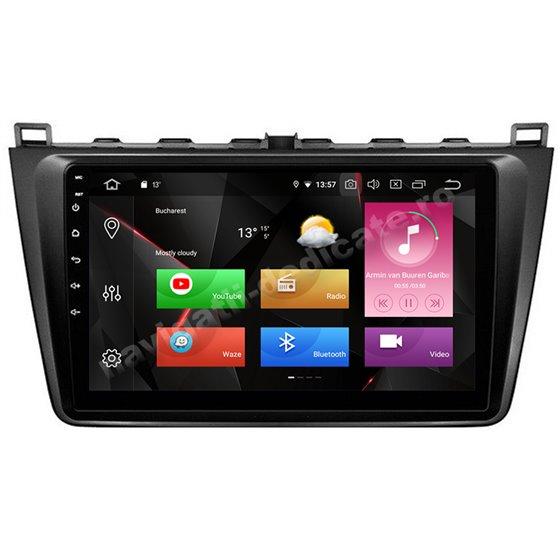 Navigatie Carplay Android 10 MAZDA 6 2008-2013 Octa Core 6GB Ram 128GB SSD Ecran 9 inch NAVD-US9024