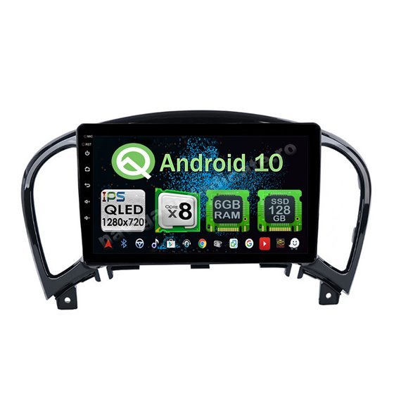 Navigatie Android 10 Nissan Juke 2004-2016 Octa Core 4GB Ram Ecran 9 inch NAVD-Z8029