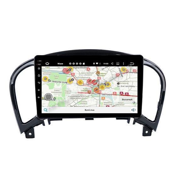 Navigatie Carplay Android 10 Nissan Juke 2004-2016 Octa Core 6GB Ram 128GB SSD Ecran 9 inch NAVD-US9029