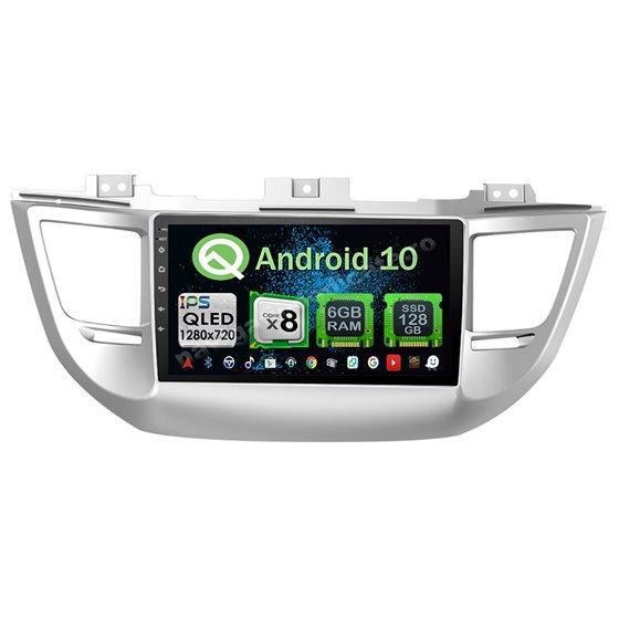 Navigatie Android 10 Hyundai Tucson 2014- 2018 Octa Core 4GB Ram Ecran 9 inch NAVD-Z8031