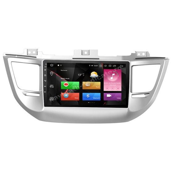 Navigatie Carplay Android 10 Hyundai Tucson 2014- 2018 Octa Core 6GB Ram 128GB SSD Ecran 9 inch NAVD-US9031