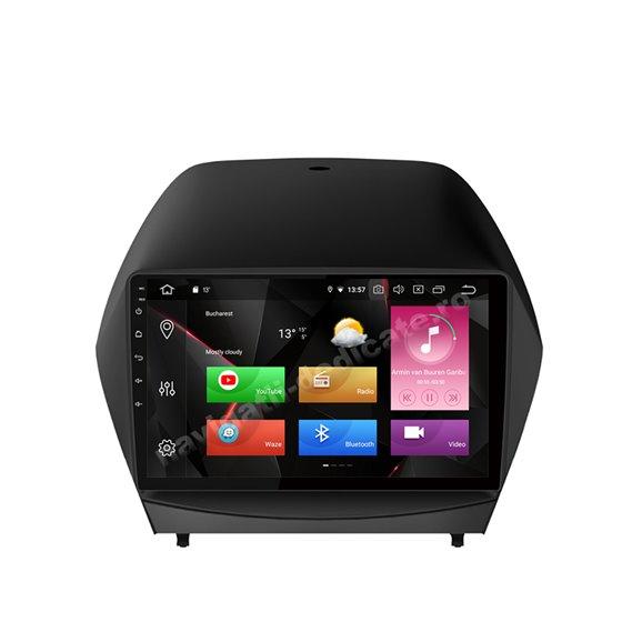 Navigatie Carplay Android 10 Hyundai IX35 2011-2015 Octa Core 6GB Ram 128GB SSD Ecran 9 inch NAVD-US9032