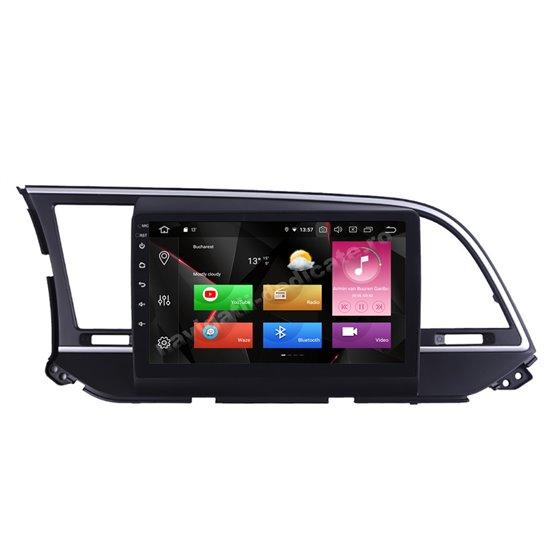Navigatie Carplay Android 10 Hyundai Elantra 2016-2018 Octa Core 6GB Ram 128GB SSD Ecran 9 inch NAVD-US9034