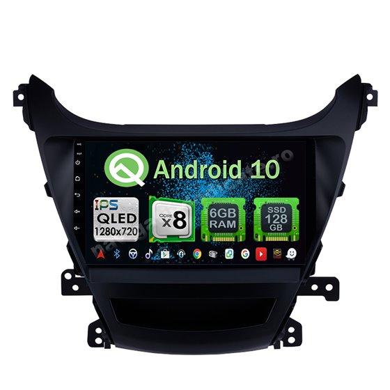 Navigatie Android 10 Hyundai Elantra 2014 Octa Core 4GB Ram Ecran 9 inch NAVD-Z8035
