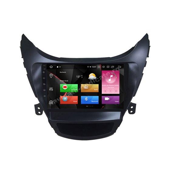 Navigatie Carplay Android 10 Hyundai Elantra 2011-2013 Octa Core 6GB Ram 128GB SSD Ecran 9 inch NAVD-US9036
