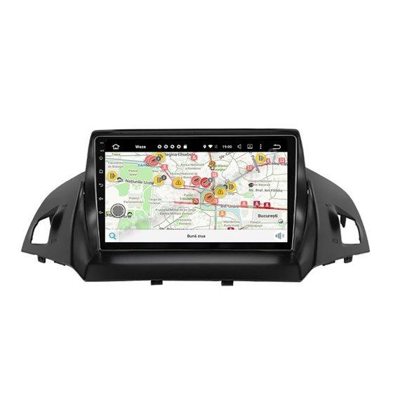 Navigatie Carplay Android 10 Ford Kuga 2013-2020 Octa Core 6GB Ram 128GB SSD Ecran 9 inch NAVD-US9040
