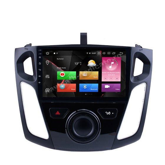 Navigatie Carplay Android 10 Ford Focus 3 2011-2018 Octa Core 6GB Ram 128GB SSD Ecran 9 inch NAVD-US9041