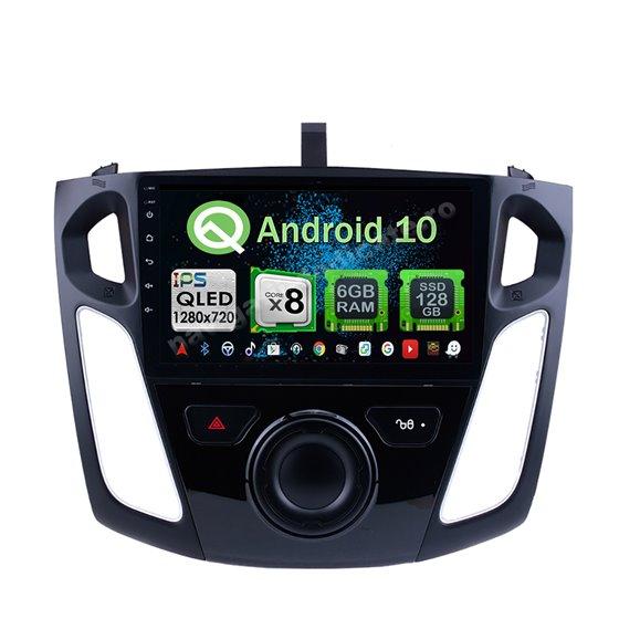 Navigatie Android 10 Ford Focus 3 2011-2017 Octa Core 4GB Ram Ecran 9 inch NAVD-Z8041