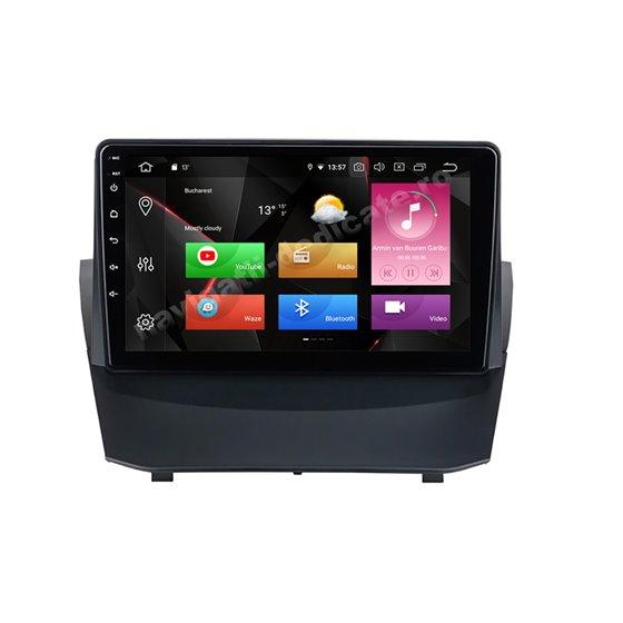 Navigatie Carplay Android 10 Ford Fiesta 2009-2014 Octa Core 6GB Ram 128GB SSD Ecran 9 inch NAVD-US9042
