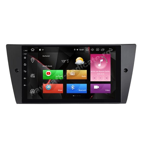 Navigatie Carplay Android 10 BMW E90 Octa Core 6GB Ram 128GB SSD Ecran 9 inch NAVD-US9043