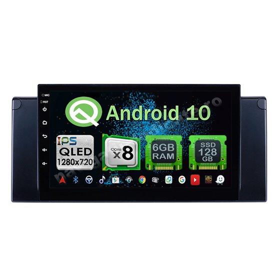 Navigatie Android 10 BMW E39 X5 E53 Octa Core 4GB Ram Ecran 9 inch NAVD-Z8082