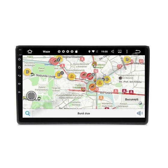 Navigatie Carplay Android 10 Audi A4 Octa Core 6GB Ram 128GB SSD Ecran 9 inch NAVD-US9050