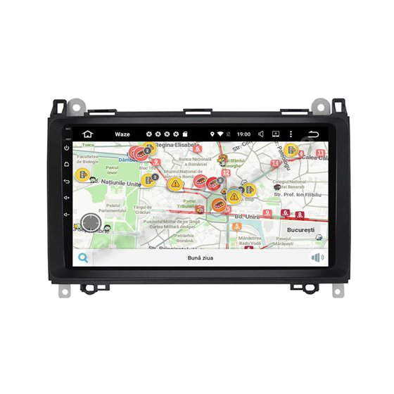 Navigatie Carplay Android Octa Core 6GB Ram 128GB SSD Mercedes Benz A B Class Vito Viano Sprinter Vw Crafter NAVD-US9068