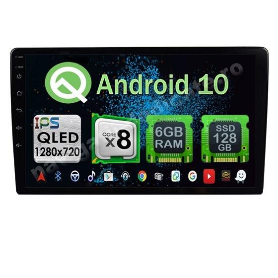 Navigatie Universala Android 10 Octa Core 6GB Ram 128GB SSD Ecran 9 inch Ips NAVD-US9012