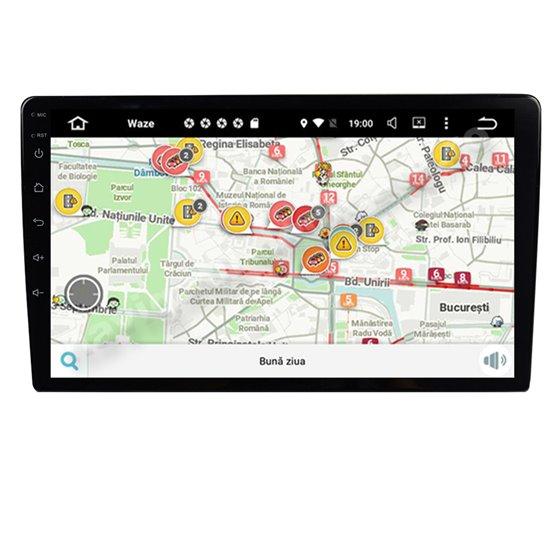 Navigatie Carplay Universala Android 10 Octa Core 6GB Ram 128GB SSD Ecran 9 inch Ips NAVD-US9012