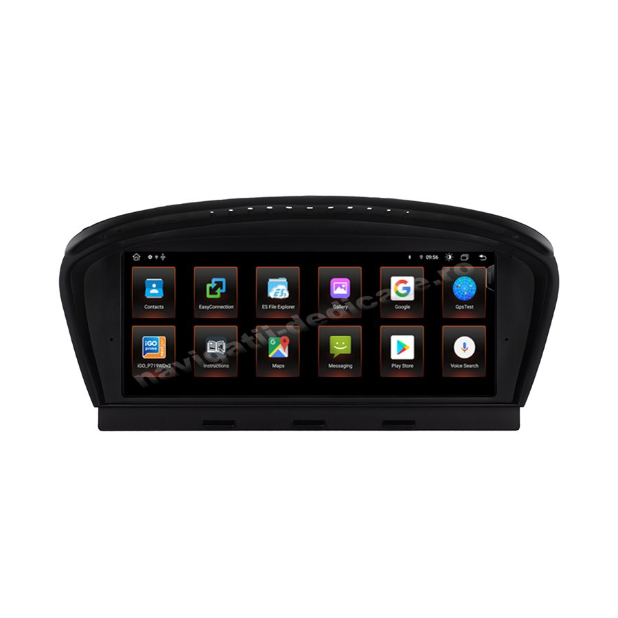 Monitor Navigatie Android 10 BMW E60 E90 CIC Octa Core 4GB Ram Bluetooth GPS USB NAVD-E60CIC MTK
