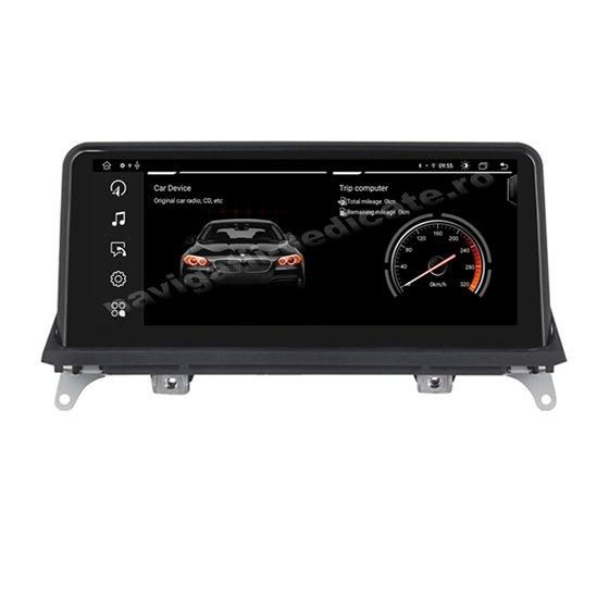 Monitor Navigatie Android 10 BMW X5 E70 X6 E71 Octa Core 4GB Ram Bluetooth GPS USB NAVD-E70CCC MTK