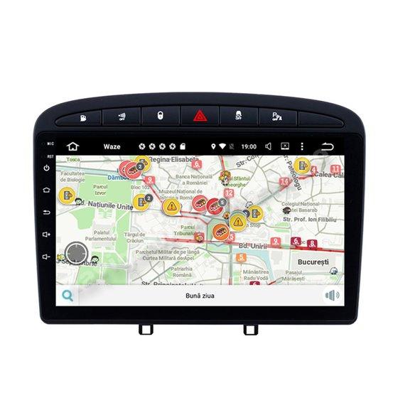 Navigatie Android Peugeot 308 Octa Core 4GB Ram Ecran 9 inch NAVD-Z8058
